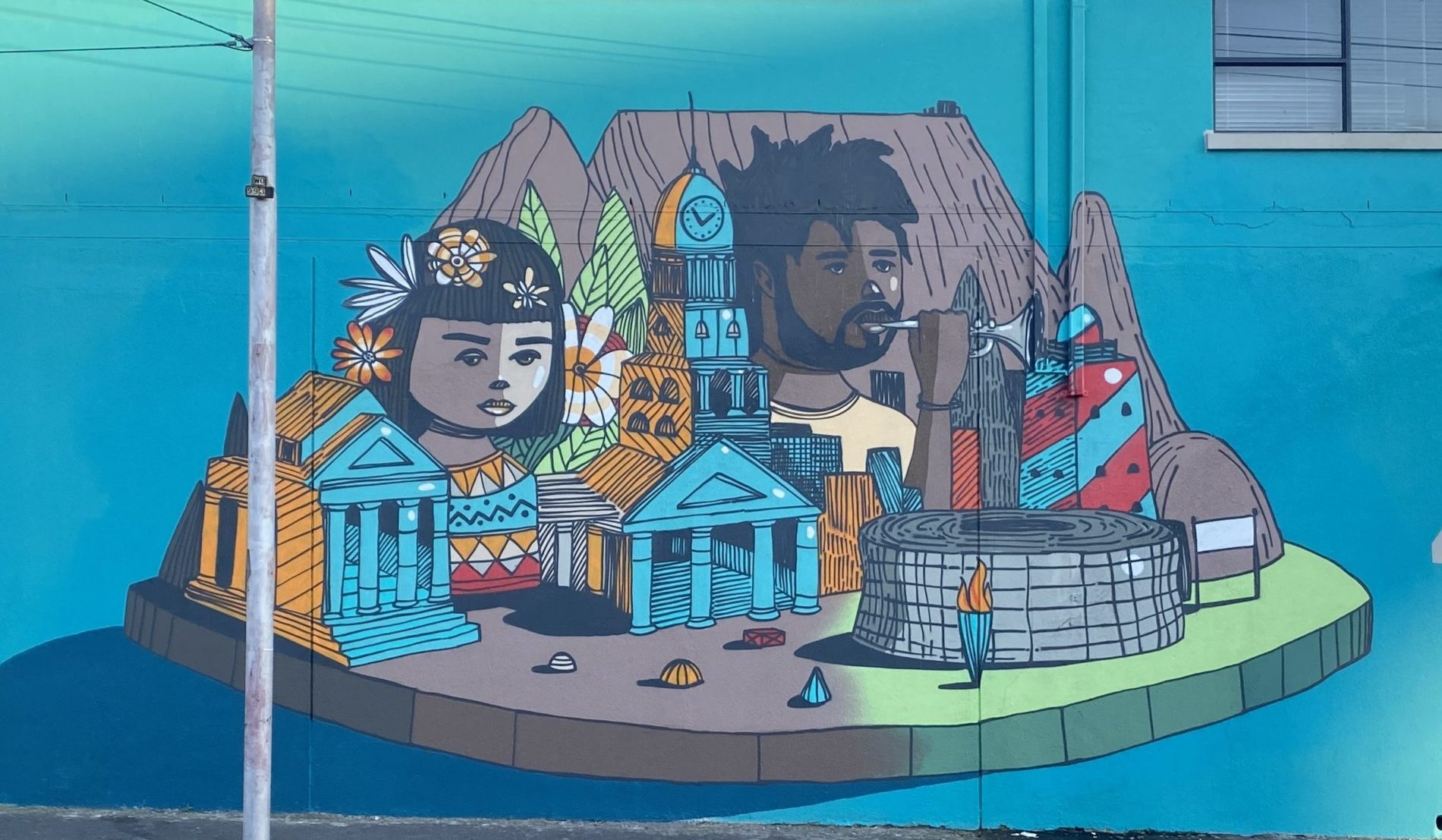 """Featured image for """"CONFORM adds Mural to Sanlam Cape Town Marathon Map"""""""